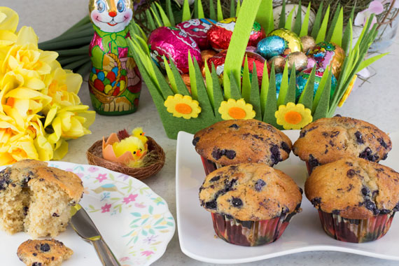 Cardamom muffins for Easter