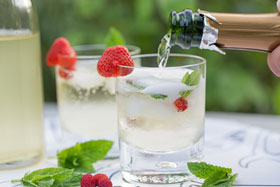 Elderflower cordial can be made into a lovely summery drink