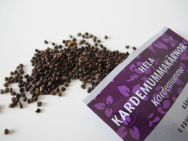 A packet of cardamom